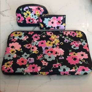 NWT Kate spade wildflower laptop sleeve